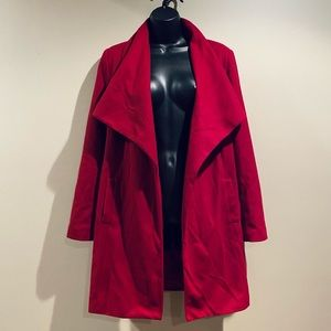Forever 21 Large Red Trench Coat